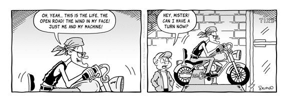 Biffy Comics - Ridin' - Sven Skupien