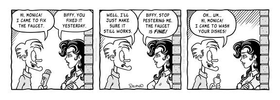 Biffy Comics - Broken Faucet - Sven Skupien